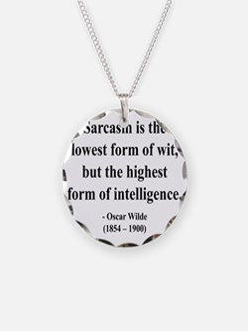Oscar Wilde 29 btext Necklace