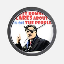 Romney for the 1% Wall Clock