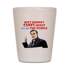 Romney for the 1% Shot Glass