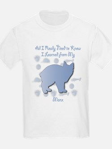 Learned Manx Kids T-Shirt