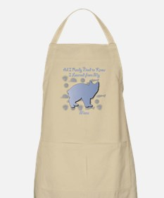 Learned Manx BBQ Apron