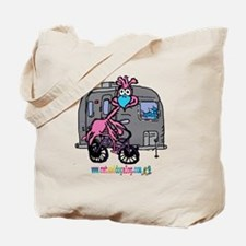 cafepress 10x10airstream pink Tote Bag