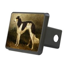 BorzoiPaintingPC100 Hitch Cover