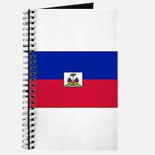 Republic Haiti flag Journal