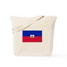 Republic Haiti flag Tote Bag