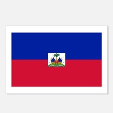 Republic Haiti flag Postcards (Package of 8)