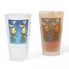 MICHIGAN-Flipflops Drinking Glass