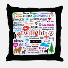 Twin TwiMem v1 Throw Pillow