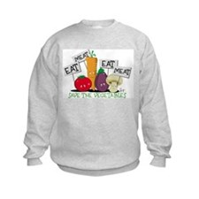 Save The Veggies! Sweatshirt