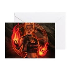 1_326_pyromancer_elyssa Greeting Card