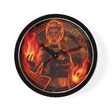 1_326_pyromancer_elyssa Wall Clock