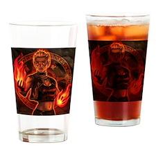 1_326_pyromancer_elyssa Drinking Glass