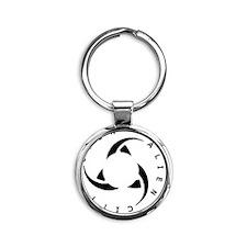 23aa23 Round Keychain