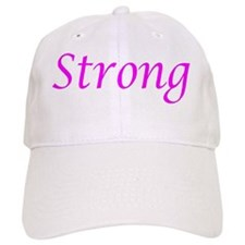 Pink Strong Baseball Cap