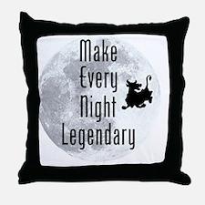 Legendary-Night Throw Pillow