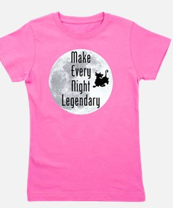 Legendary-Night Girl's Tee