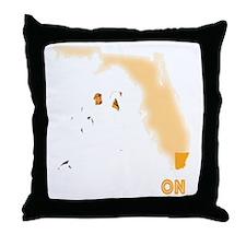 FM Black App D1 Throw Pillow