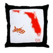 FM Black App D4 Throw Pillow