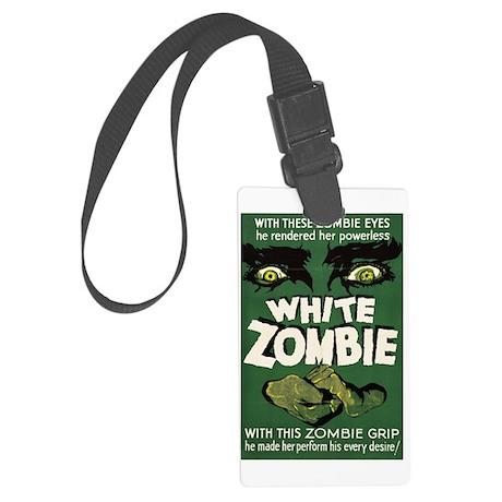 whitezombie Large Luggage Tag