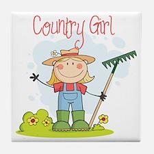country girl Tile Coaster
