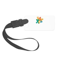 think differently front Luggage Tag