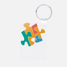 think differently back Keychains