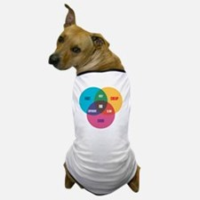 work-venn-diagram Dog T-Shirt