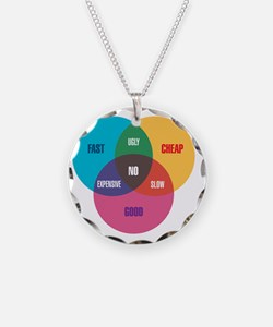 work-venn-diagram Necklace