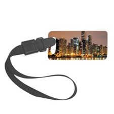 Chicago downtown for mugs Luggage Tag