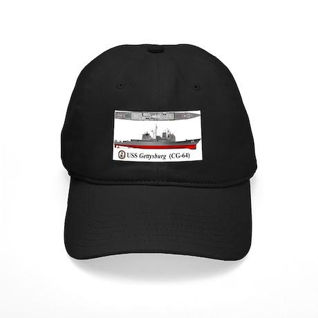 Tico_CG-64_Tshirt_Front Black Cap