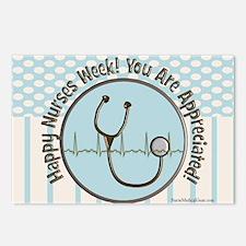 CP happy nurses week choc Postcards (Package of 8)