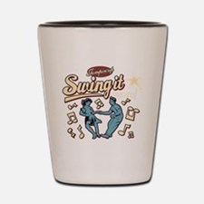 Swing It Again! Shot Glass
