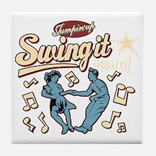 Swing It Again! Tile Coaster