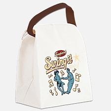 Swing It Again! Canvas Lunch Bag