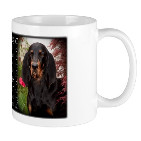 Black & Tan Coon Hound Mug