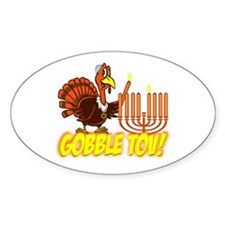 Gobble Tov Thanksgivukkah Turkey and Menorah Stick