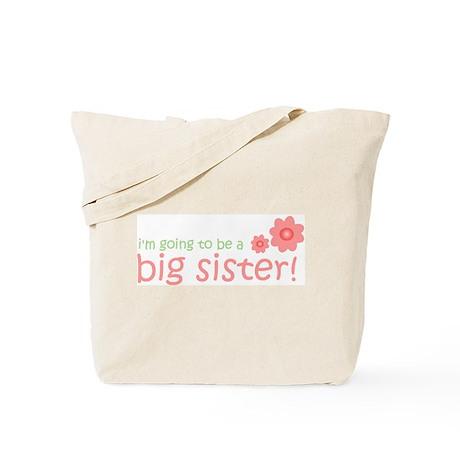 secret big sister flower Tote Bag