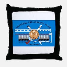 Cheyenne Arapaho Flag Throw Pillow