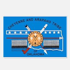 Cheyenne Arapaho Flag Postcards (Package of 8)