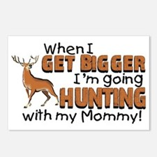 hunting mommy Postcards (Package of 8)