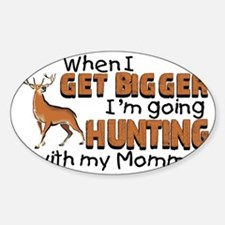 hunting mommy Decal