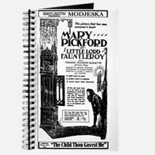 Mary Pickford Little Lord Fauntleroy Journal