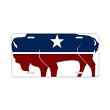 bison-us Aluminum License Plate