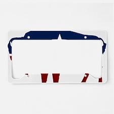 bison-us License Plate Holder