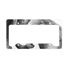 Best Friends (Coin Purse) License Plate Holder