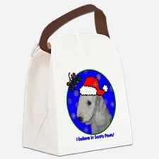 bedlingtonterrierxmas-shirt Canvas Lunch Bag