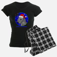 bedlingtonterrierxmas-shirt Pajamas