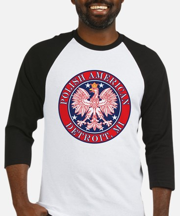 Detroit Michigan Polish Baseball Jersey