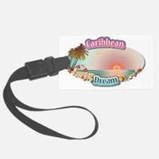 Caribbean Luggage Tag