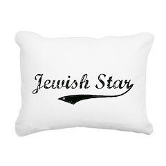 Jewish Star Rectangular Canvas Pillow